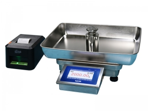 7-station weighing and batching system / ERP electronic scale